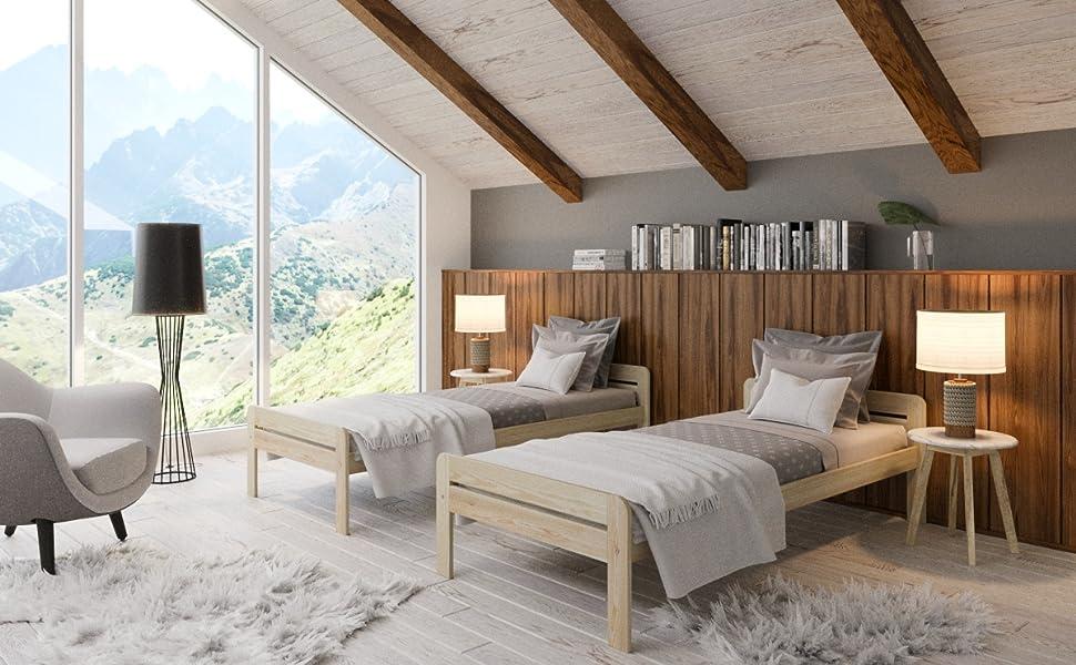 Need Sleep - Cama de madera maciza para personas mayores ...