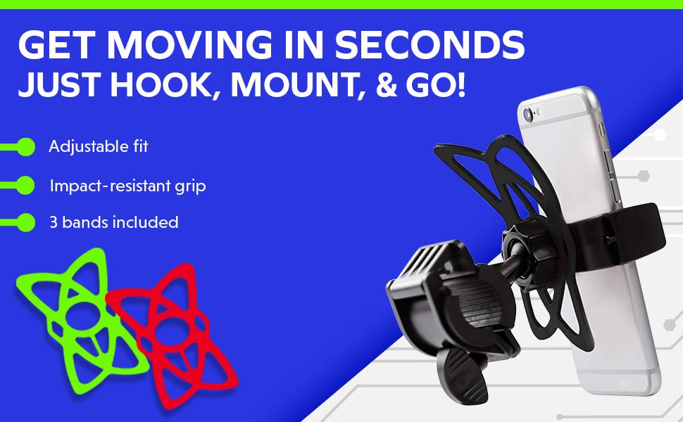 Mongoora bike phone mount