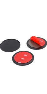 Adhesive Mounting Disk