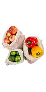 Obst und Gemüsebeutel
