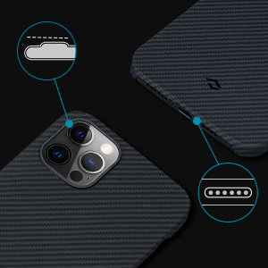 cover 6.7 inch black wireless charging friendly