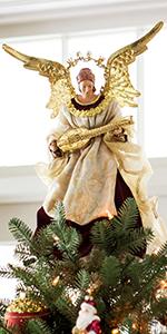 Noel Angel Christmas Tree Topper