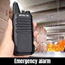 2 way radios with local emergency alarm