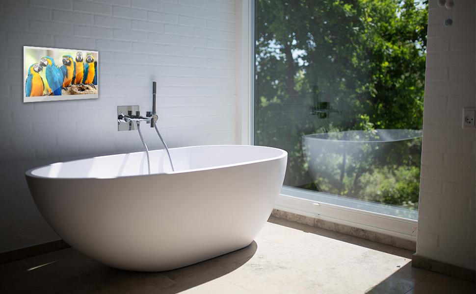 tv for bathroom waterproof