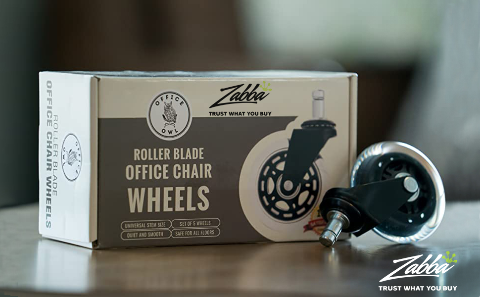 Office Owl Office Chair Wheels Product Photo