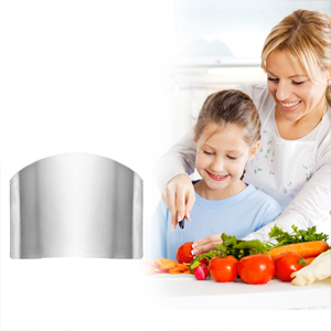 Unbreakable Stainless Steel Safe Slice Knife Guard Slicing Protector Finger Hand Protector Guard
