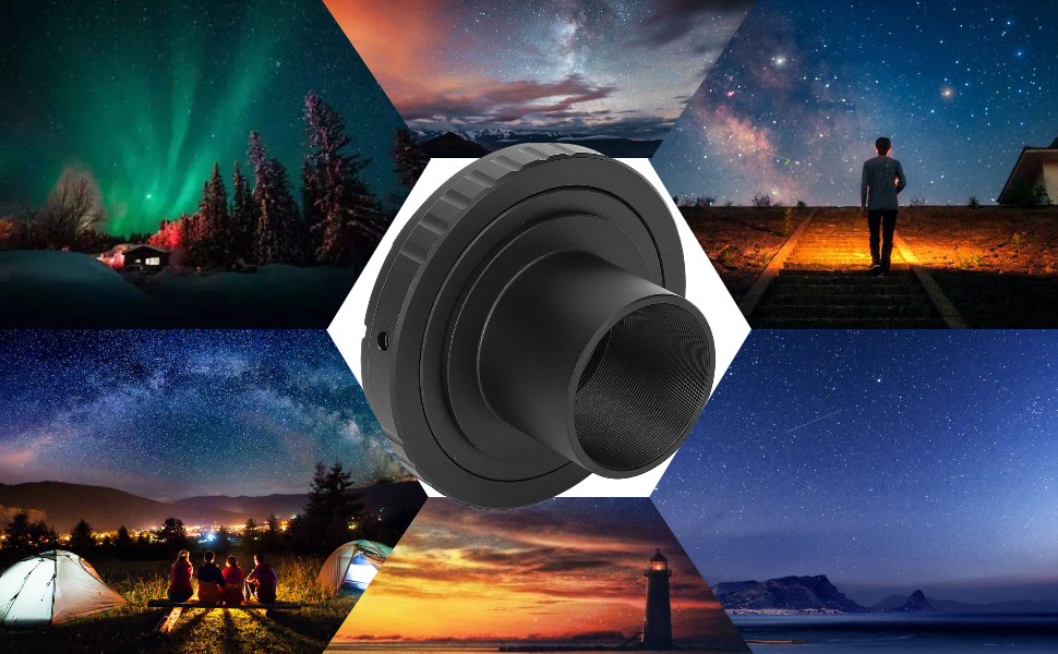 1.25in Astronomical Telescope Mount Adapter