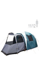 NTK Super Arizona GT up to 12 Person 20.6 by 10.2 by 6.9 Height Foot Sport Family XL Camping Tent