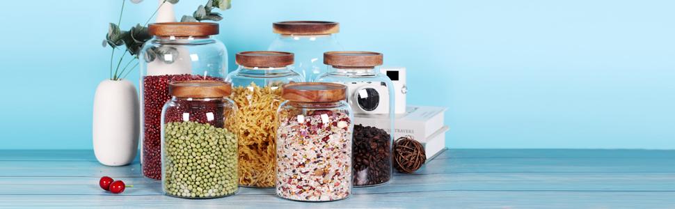 glass jar set
