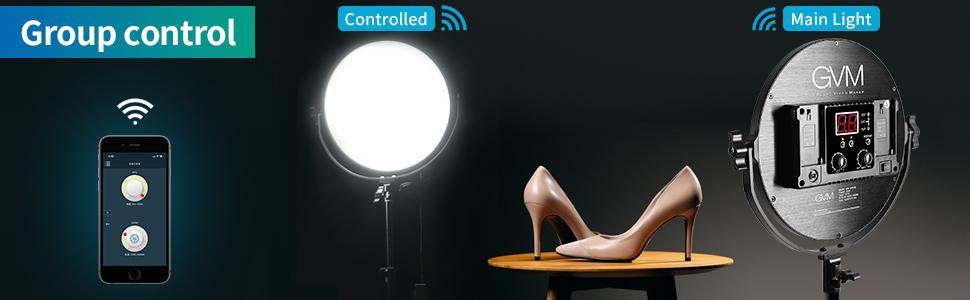 LED Bi-Color Edge Video lighting kit