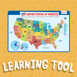 merka, placemats, learning tool