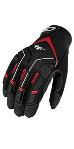 Vgo Synthetic Leather Heavy Duty Mechanic Work Gloves