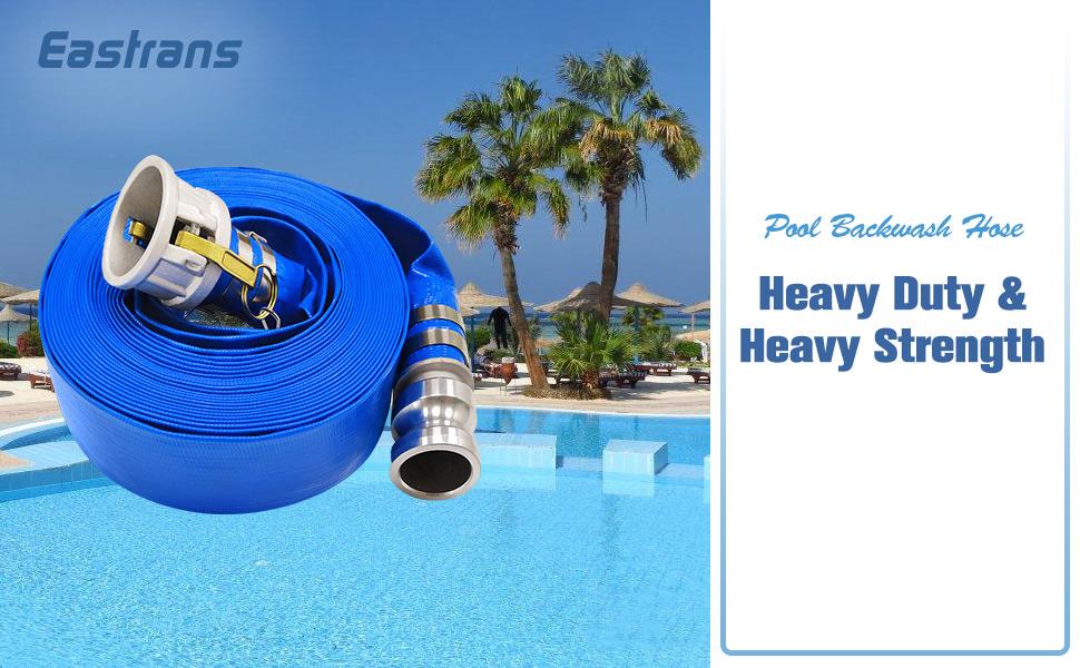 pool discharge hose