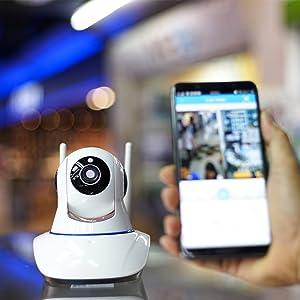 Controllo dispositivi di sicurezza e telecamere