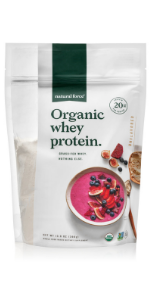 natural force unflavored organic whey protein