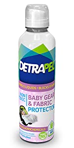 baby fabric, protect, stains, spit up, spill, liquid repellent, water resistant, spill-proof, safe