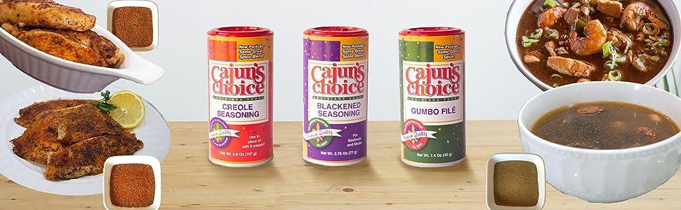 Cajun's Choice Seasoning