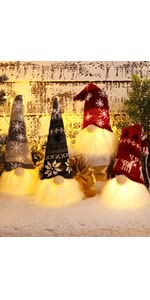 Christmas Gnomes with Light