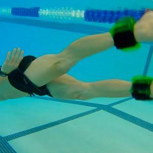Aqualogix hybrid swim fins