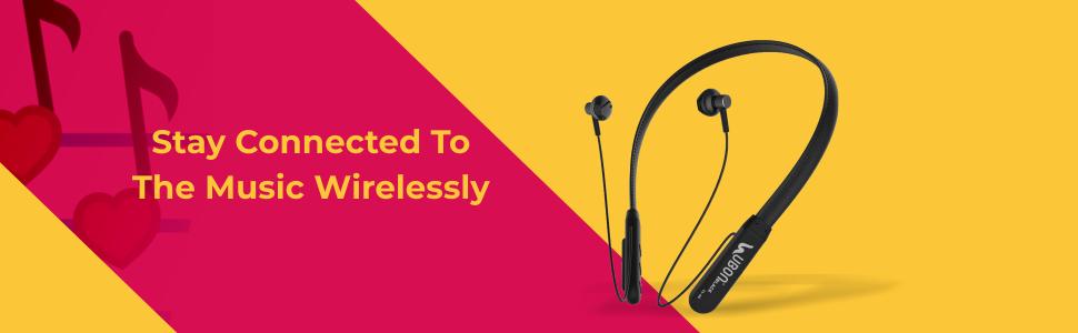 UBON CL-60 Wireless in-Ear Earphone Bluetooth Neckband Headphone SPN- FOR 1