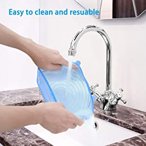 Easy to Clean and reusable