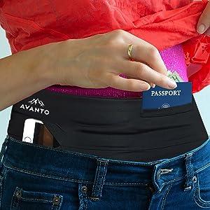 passport holder travel money belt
