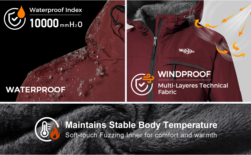 Women's Waterproof Winter Coats