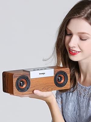 Wooden speakers