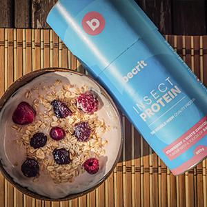 BeCrit | Proteina en Polvo Sin Lactosa, Sin Aceite de Palma | Fácil Digestion | Proteina de Insecto y Vegetal | Batido de Proteinas con Aminoacidos | ...