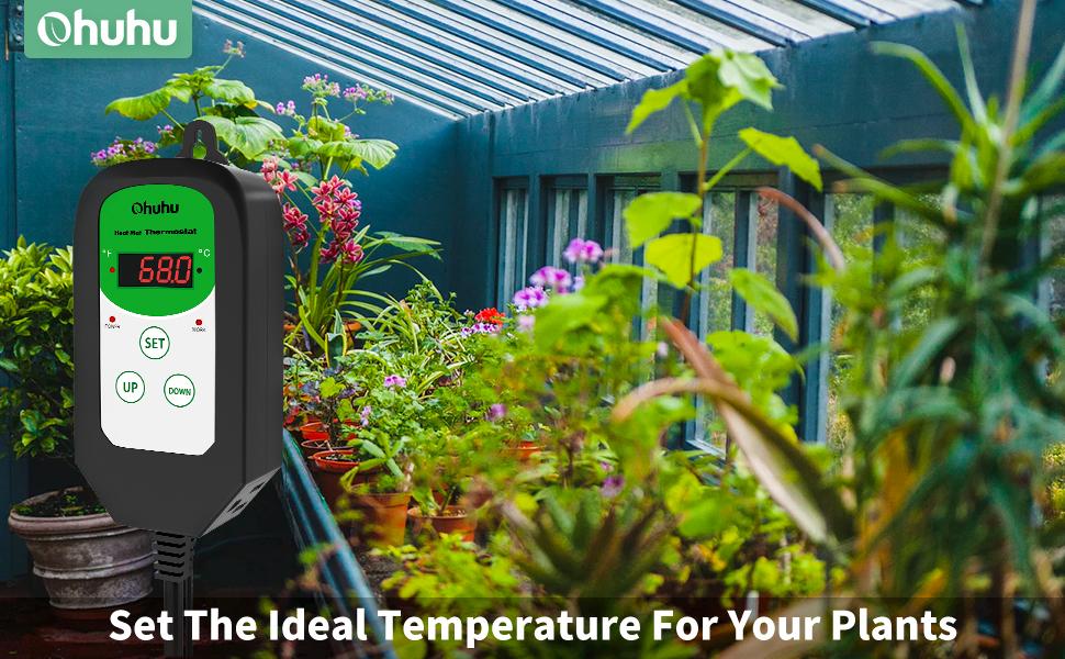 Seedling Heat Mat Seed Starting Plant Heating Pad Seedling Germination digital thermostat controller