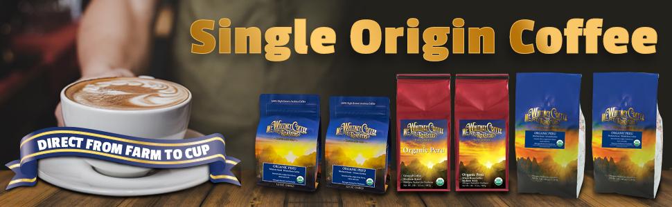 Mt. Whitney Organic Shade Grown Coffee from Peru