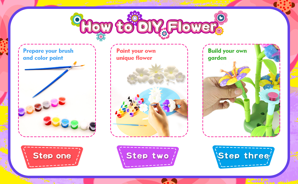 How to DIY Flower