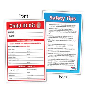 fingerprint kit, safety kit
