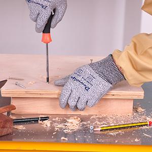 wood working gloves