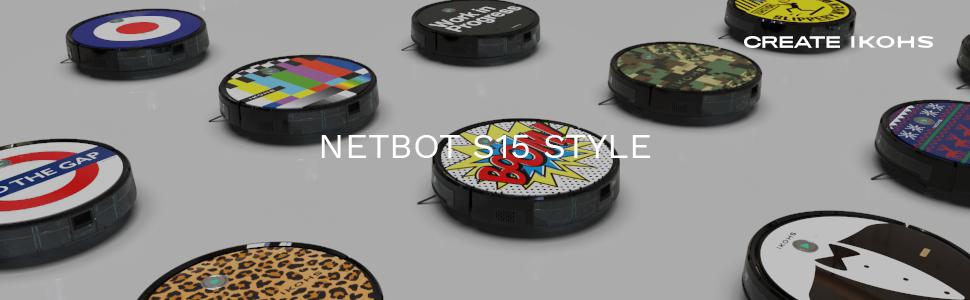 IKOHS NETBOT S15 - Robot aspirador profesional 4 en 1: barre, aspira, pasa la mopa y friega (Netbot s15 / Boom): Amazon.es: Hogar