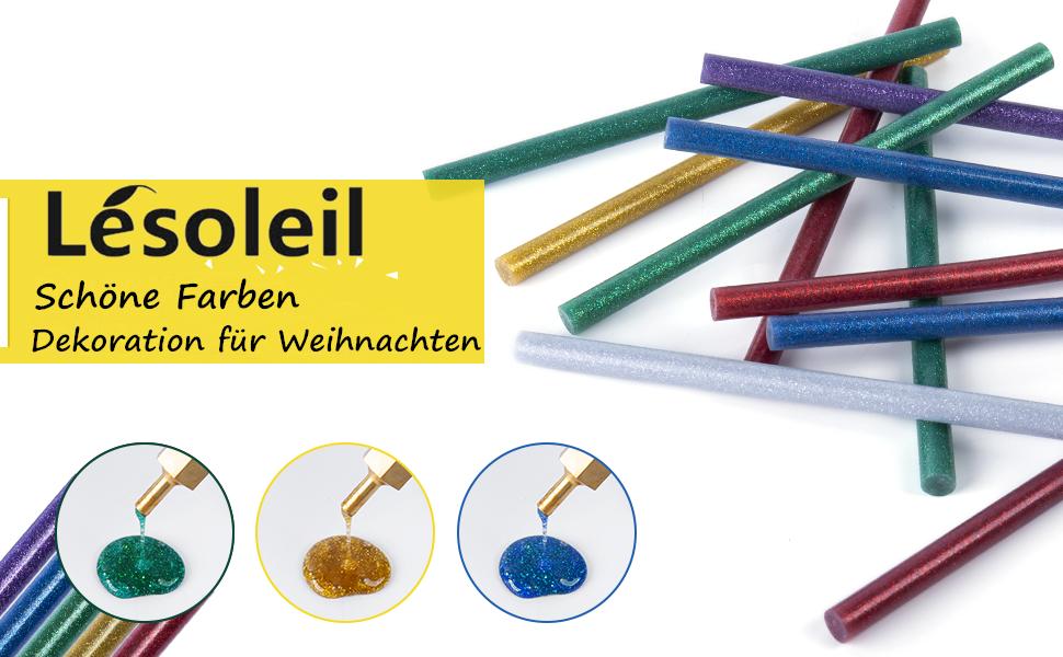 Hete lijmpatronen, ca. 40 lijmstiften, hete lijm voor lijmpistolen 11 mm standaard