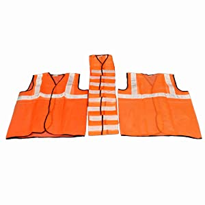 yellow jacket for road safety