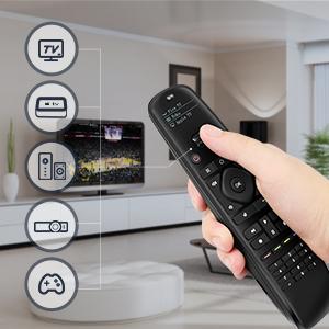 universal remote control apple tv