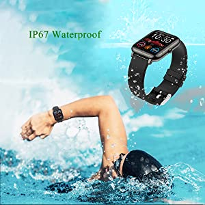 IP67 Swimming Waterproof Smart Watch