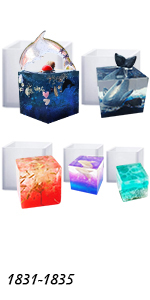 Cube Paperweight Molds Set