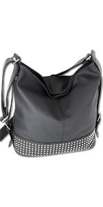 große Handtasche schwarz