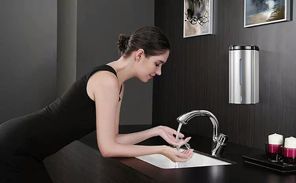 wall mount automatic soap dispenser