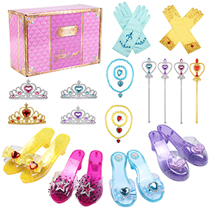 Princess Dress Up Shoes for Girls