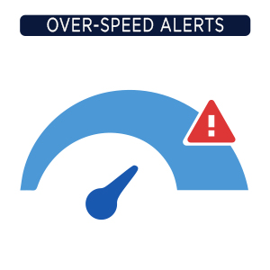 over speed alerts