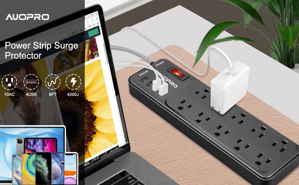 Power Strip with USB