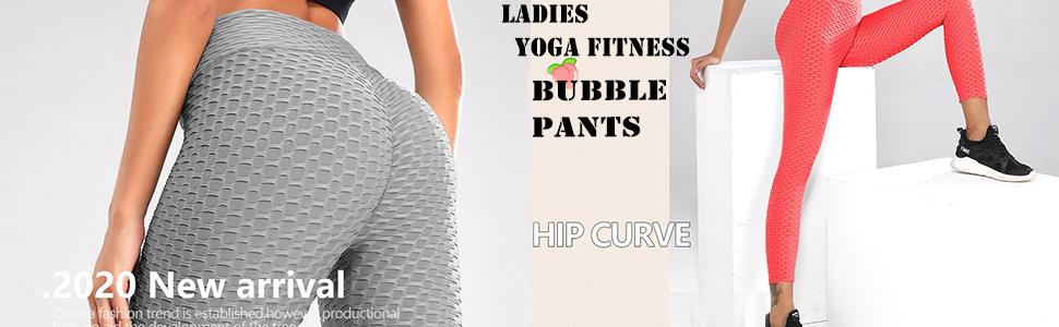 EXGOX Frauen High Waist Yoga Hosen Stretch Running Workout Yoga Leggings Bauch Kontrolle Sport Strumpfhose