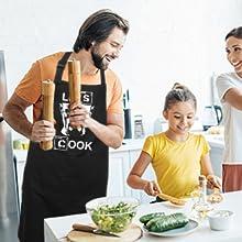 apron let's cook
