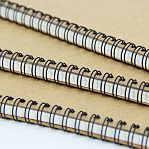 Brown Cover Spiral Notebook