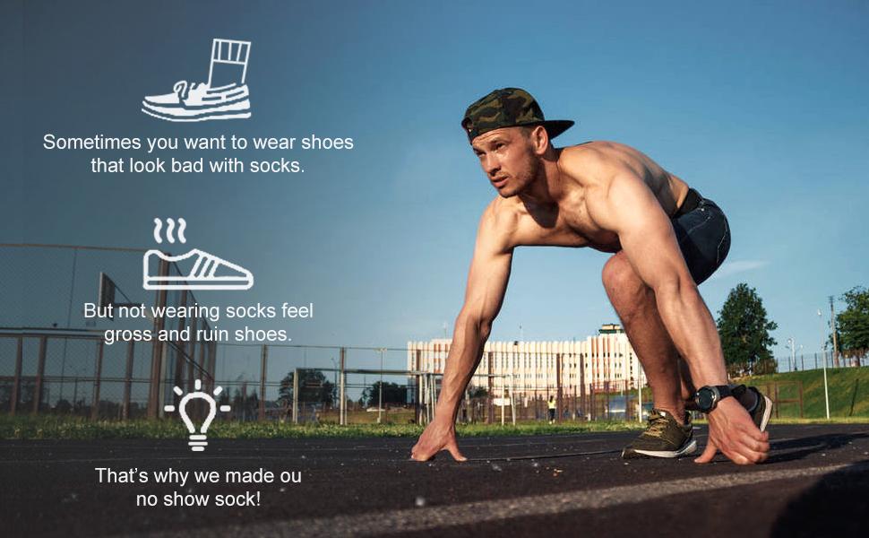 no show socks men