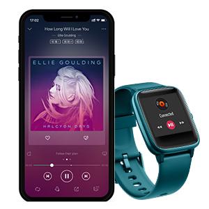 muatch fitness Waterproof bracelet heart rate monitor